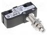MKV11D08 - Microswitch SNAP ACTION, with pin, SPDT, 6A/250VAC, 5A/24VDC