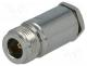 Βύσμα Ν - Plug, N, female, straight, RG58, 5.5mm, soldering,clamp, for cable