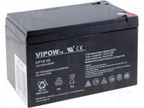 ACCU-HP12-12 - Rechargeable acid cell 12V 12Ah 151x98x95mm VIPOW