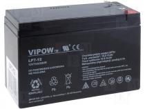 Rechargeable acid cell 12V 7Ah 151x65x94mm VIPOW