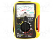 Analogue multimeter, V DC 10/50/250/500V, V AC 50/250/500V