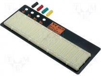 WBU-504L - Breadboard 1940 points 125x305mm